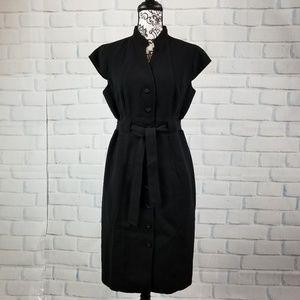 Calvin Klein women's sz 10 belted waist dress